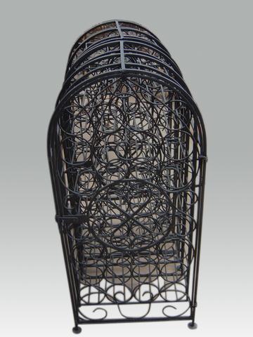 Beste IJzeren wijnrek - IJzeren meubelen - IJzeren decoraties - Stip HB-61