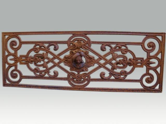 Wonderbaarlijk Gietijzeren ornament - Ornamenten & Roosters - Oude bouwmaterialen BW-47